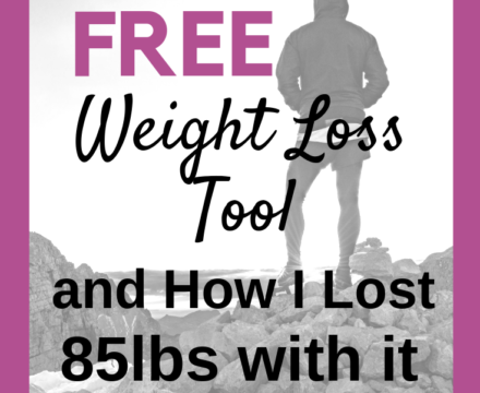 The Best Free Weight Loss Tool (and how I lost 85lbs with it)