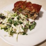 Healthy Gluten Free Stuffed Meatloaf #fitandfrugalmommy #healthydinner #cleaneating #glutenfree #recipe