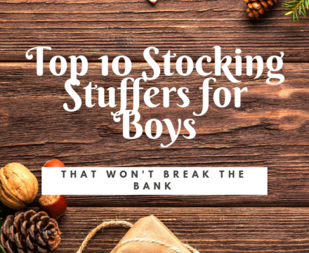 Top 10 Stocking Stuffers for Boys (that are budget friendly)