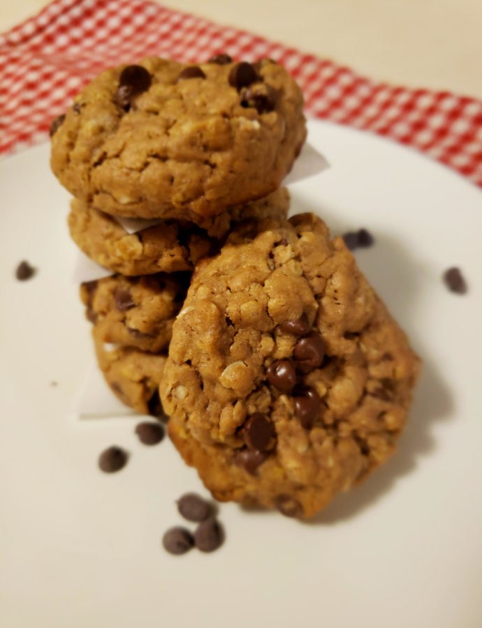 Gluten Free Peanut Butter Chocolate Cookies