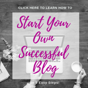 How to Start Your Own Successful Blog #fitandfrugalmommy #bloggingtips