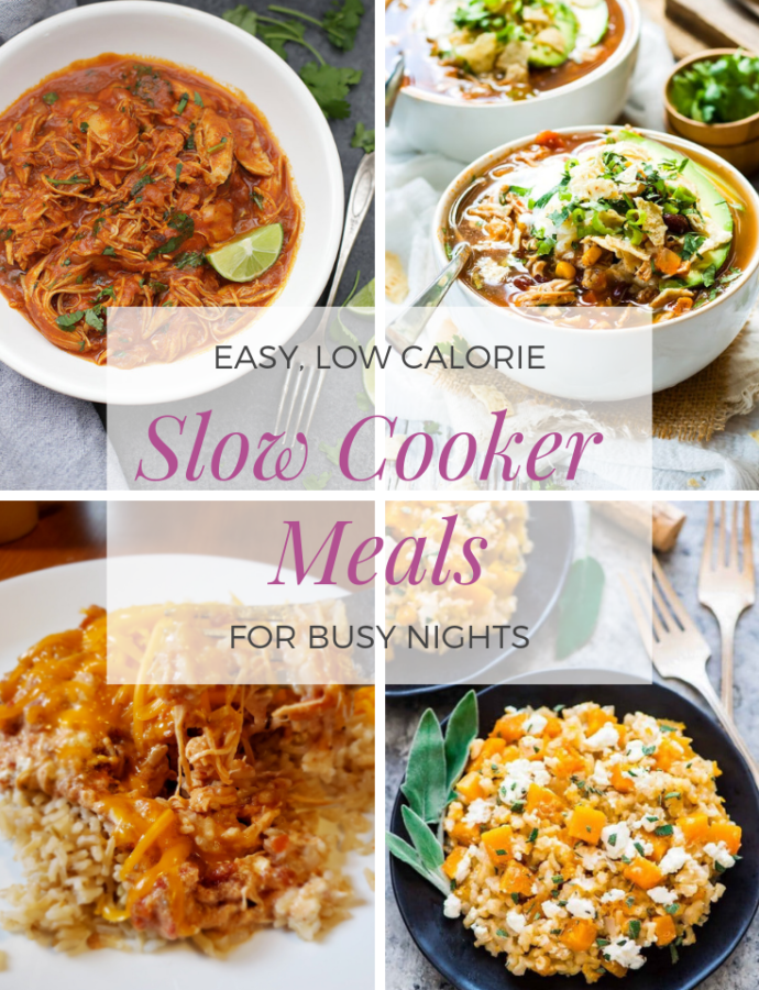 7 Easy, Healthy Slow Cooker Dinners for Busy Nights
