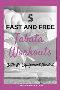 5 Fast and Free Tabata Workouts With No Equipment Needed, Shred Fat Fast with these high intensity workouts.