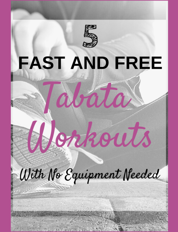 5 Fast and Free Tabata Workouts (No Equipment Needed)