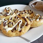 Two Ingredient Dough Dessert Pretzels, a healthy treat recipe #fitandfrugalmommy