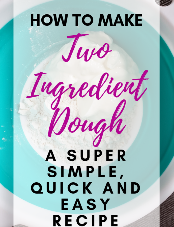 How To Make Two Ingredient Dough