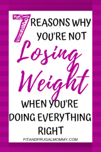 7 reasons you're not losing weight when you're doing everything right. Weight loss plateau tips. How to break a weight loss plateau.