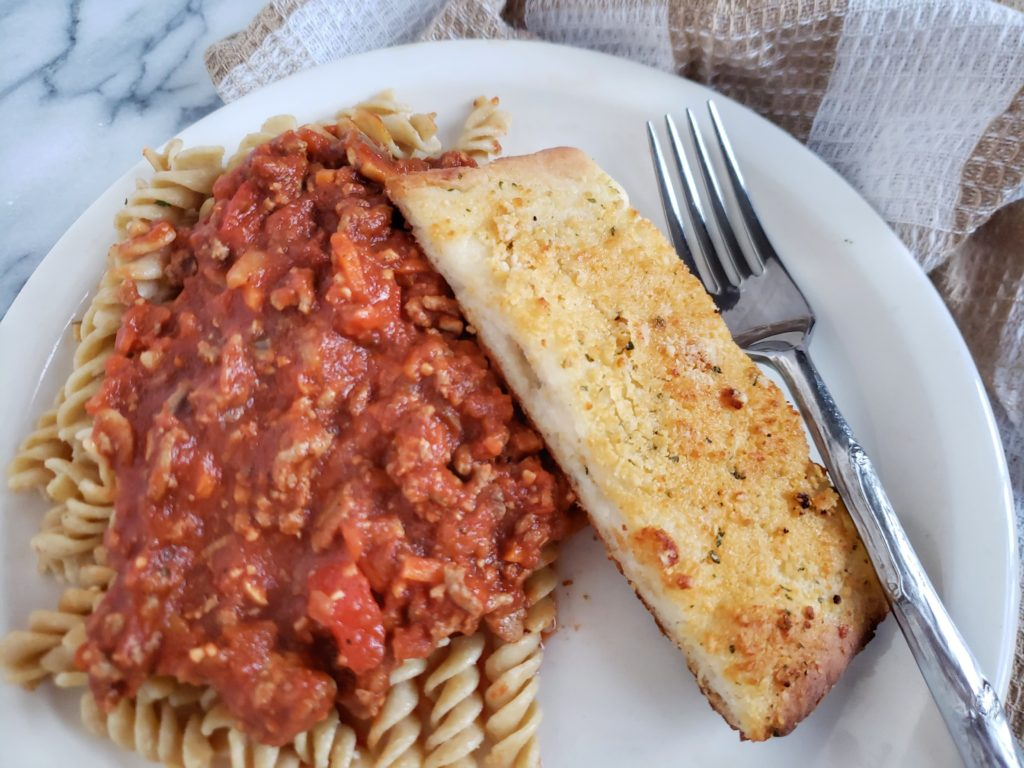 Two ingredient dough garlic bread, a healthy copycat recipe of little Caesar's crazy bread. A low calorie recipe to pair with your low carb meals.